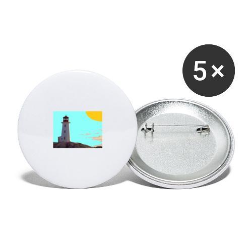 fantasimm 1 - Confezione da 5 spille grandi (56 mm)
