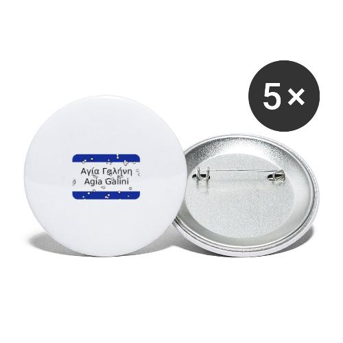 mg agia galini - Buttons groß 56 mm (5er Pack)