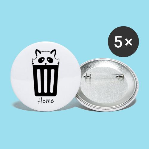 Home by Lynks - Buttons groß 56 mm (5er Pack)