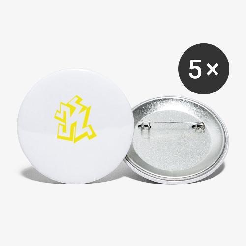 kseuly png - Lot de 5 grands badges (56 mm)