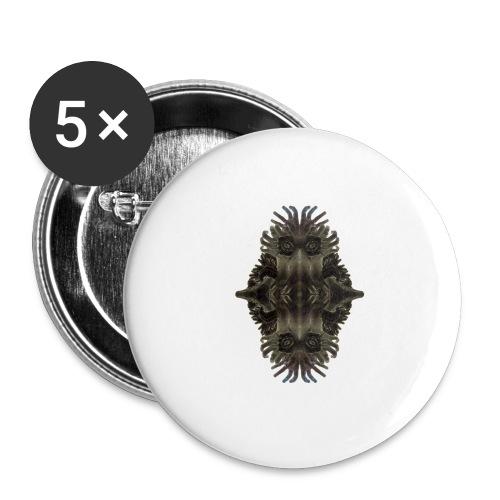 Kretzschmaria - Buttons large 2.2''/56 mm(5-pack)