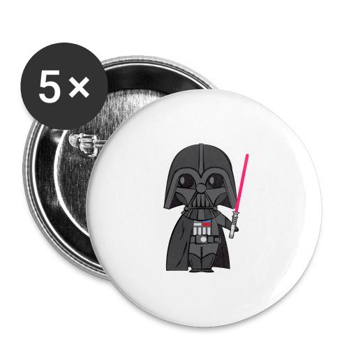 Darth Vader - Lot de 5 grands badges (56 mm)