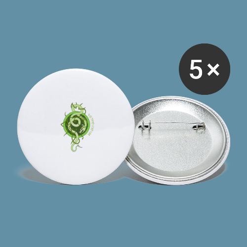 Jormungand logo png - Confezione da 5 spille grandi (56 mm)
