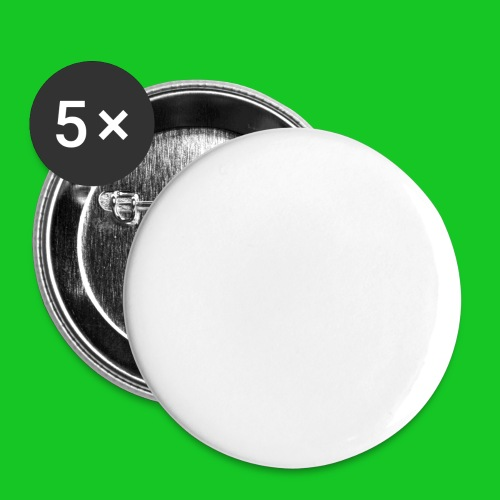 Paardenhoofd line - Buttons groot 56 mm (5-pack)