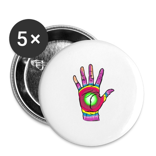 Stop and change the world - Buttons large 2.2''/56 mm(5-pack)