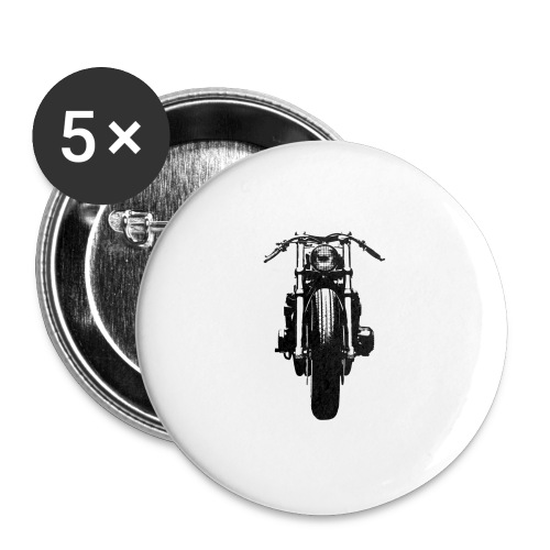 Motorcycle Front - Buttons large 2.2''/56 mm(5-pack)