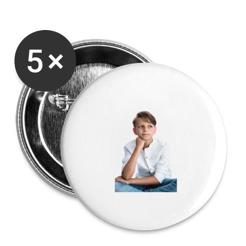 Sjonny - Buttons groot 56 mm (5-pack)