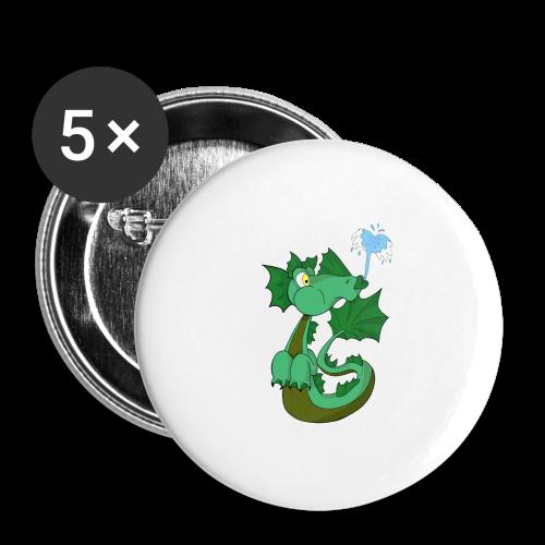 Hydor - Confezione da 5 spille grandi (56 mm)