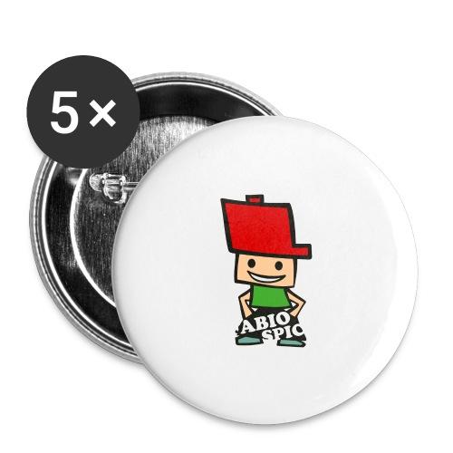 Fabio Spick - Buttons groß 56 mm (5er Pack)