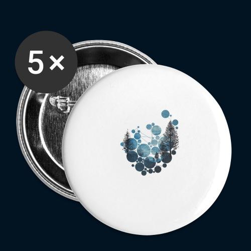Camicia Flofames - Confezione da 5 spille grandi (56 mm)