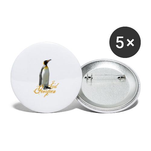 suedgeorgien - Buttons groß 56 mm (5er Pack)