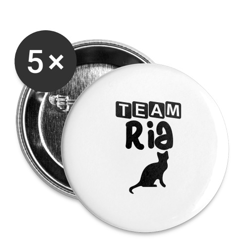 Team Ria - Buttons large 2.2''/56 mm(5-pack)