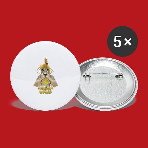 Ricco - Lot de 5 grands badges (56 mm)