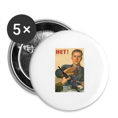 Njet M4 - Buttons groß 56 mm (5er Pack)
