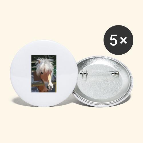 shetland - Buttons groß 56 mm (5er Pack)