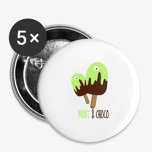 double mint icecreem - Przypinka duża 56 mm (pakiet 5 szt.)