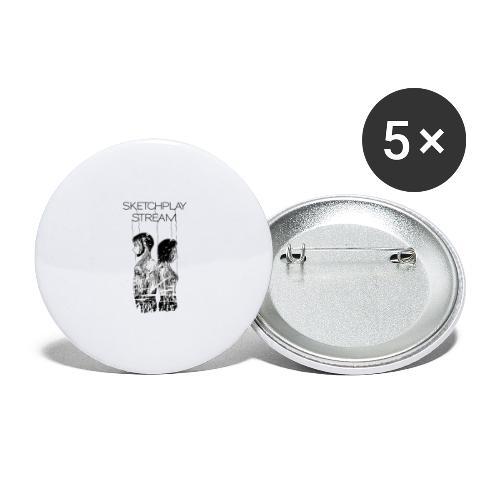 Death Stranding SketchPlayStream White - Confezione da 5 spille grandi (56 mm)