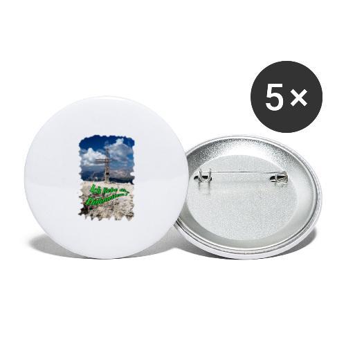 Sass Pordoi - Buttons groß 56 mm (5er Pack)