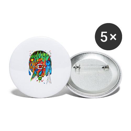 Vertrauen - Buttons groß 56 mm (5er Pack)
