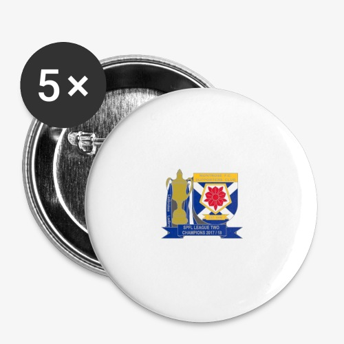 MFCSC Champions Artwork - Buttons large 2.2''/56 mm(5-pack)