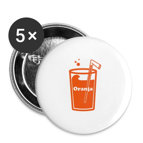 Oranja - Buttons groot 56 mm (5-pack)
