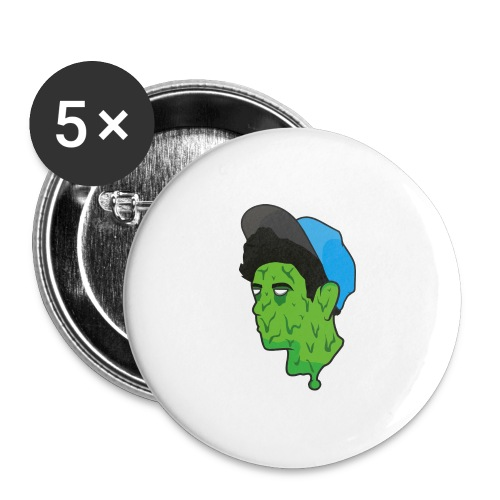 TUMBLR BOI GRAPHIC SHIRT - Buttons large 2.2''/56 mm(5-pack)