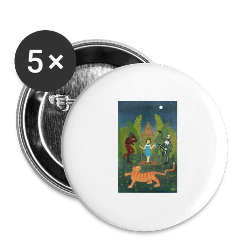 Sabbat - Lot de 5 grands badges (56 mm)