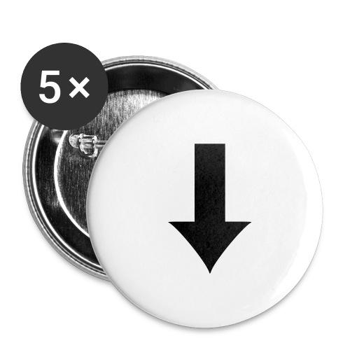Arrow - Stora knappar 56 mm (5-pack)