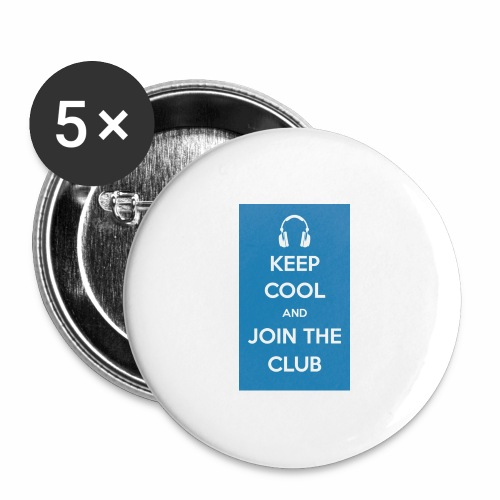 Join the club - Buttons large 2.2''/56 mm(5-pack)