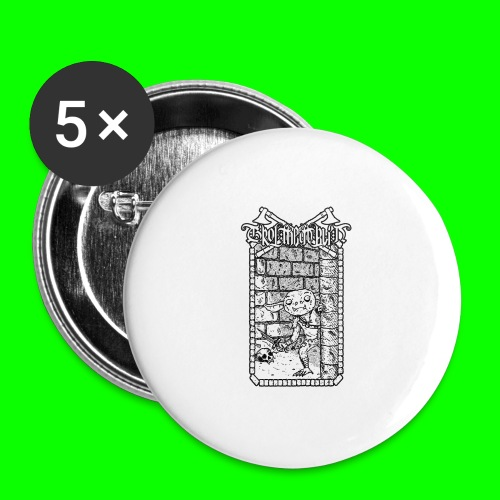 Return to the Dungeon - Buttons large 2.2''/56 mm(5-pack)
