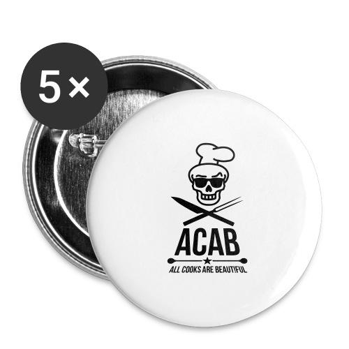 a.c.a.b. - Buttons groß 56 mm (5er Pack)