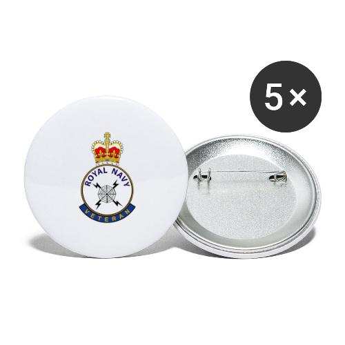 RN Vet RP - Buttons large 2.2''/56 mm(5-pack)
