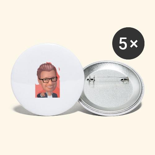 MM twitch shop - Buttons/Badges stor, 56 mm (5-pack)