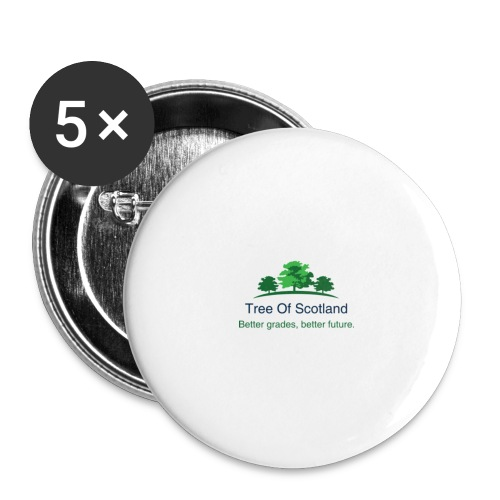 TOS logo shirt - Buttons large 2.2''/56 mm (5-pack)