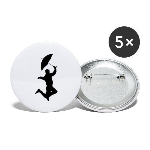 Stilestile - Confezione da 5 spille grandi (56 mm)