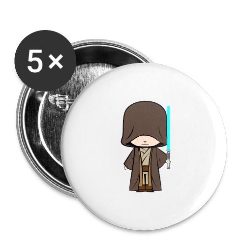 Jedi_Generique - Lot de 5 grands badges (56 mm)