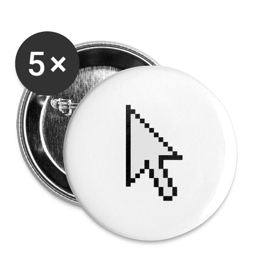 Mouse Arrow - Buttons groot 56 mm (5-pack)