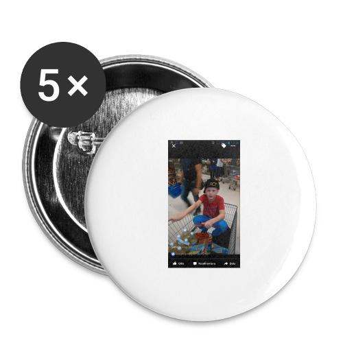 Ullared tur - Stora knappar 56 mm (5-pack)