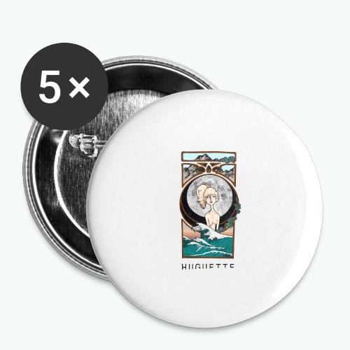 DREAM - Lot de 5 grands badges (56 mm)