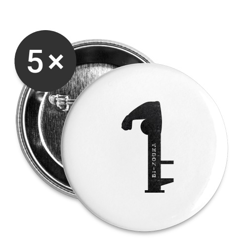 bi zooka - Buttons/Badges stor, 56 mm (5-pack)