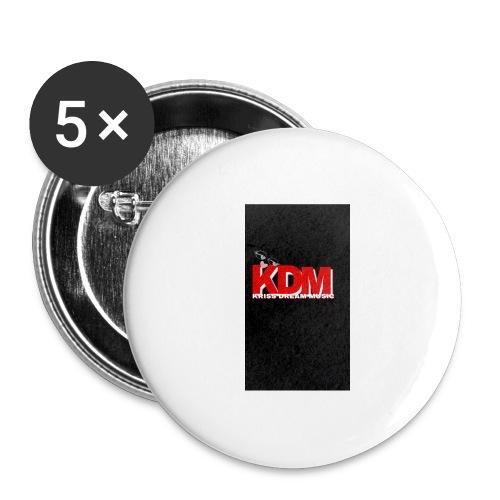 DREAM MUSIC - Lot de 5 grands badges (56 mm)