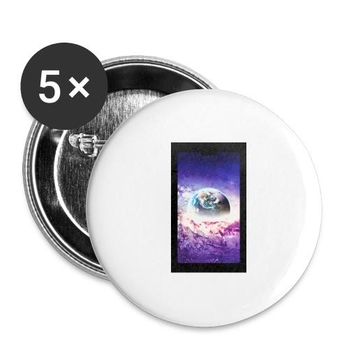 Univers - Lot de 5 grands badges (56 mm)