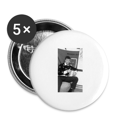 el Caballo - Buttons large 2.2''/56 mm (5-pack)