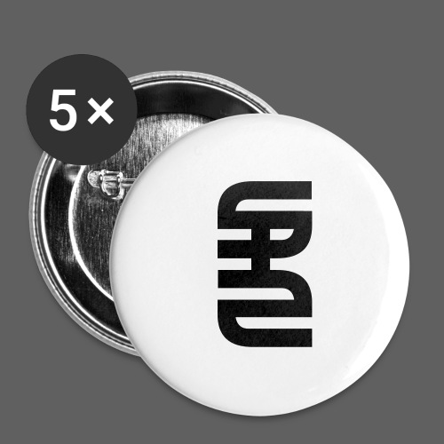 STAHLSCHLAG Logo - Buttons large 2.2''/56 mm (5-pack)