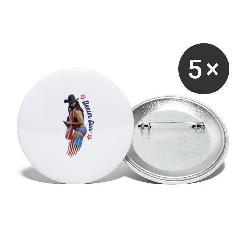 Sex appeal - Stora knappar 56 mm (5-pack)