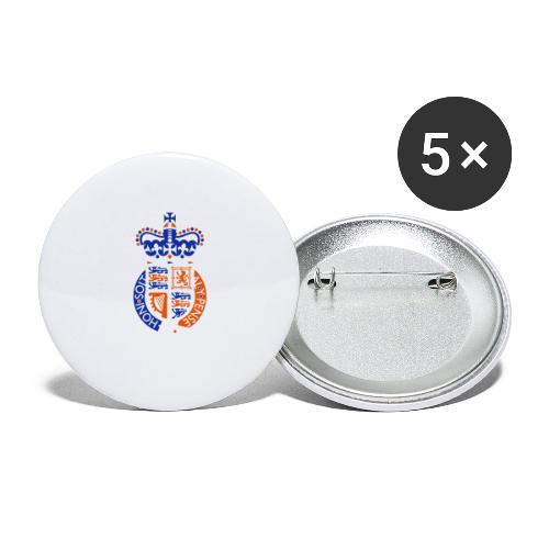 British Seal Pixellamb - Buttons groß 56 mm (5er Pack)