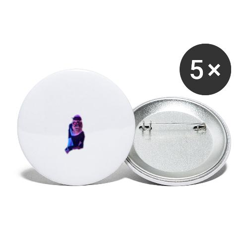 JOAQUIN - Paquete de 5 chapas grandes (56 mm)