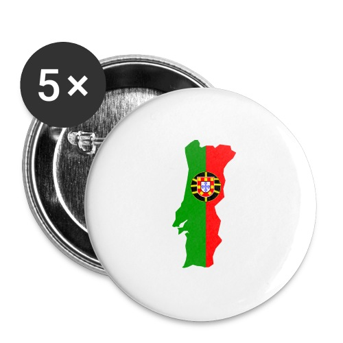 Portugal - Buttons groot 56 mm (5-pack)