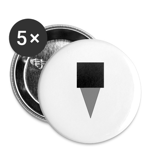 Mystery Mike Hat - Buttons large 2.2''/56 mm(5-pack)