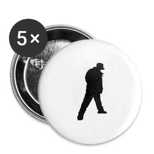 Brix City Tee - Buttons large 2.2''/56 mm(5-pack)